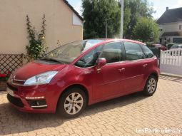 picasso ii c4 hdi 115ch rouge faible km vehicules voitures nord