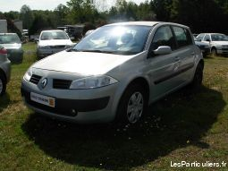 megane ii ph. 1 confort expression 1.5 dci 100 vehicules voitures cher
