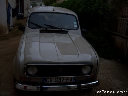 renault 4l vehicules voitures corse