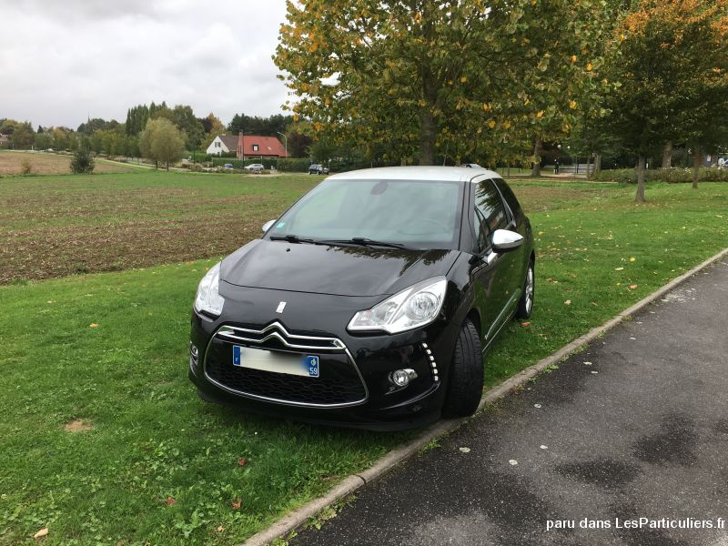 citroën ds3 vehicules voitures nord
