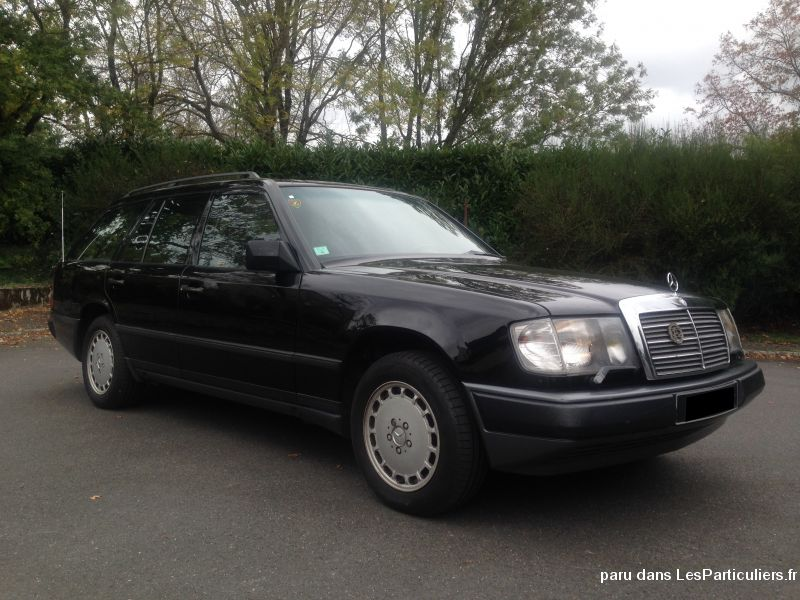 mercedes 300 te w124 break bva 7 places vehicules voitures loire-atlantique