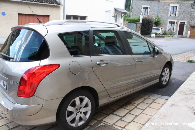 peugeot 308 sw 112cv 1ere main vehicules voitures ardennes
