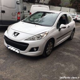 peugeot 207 2 places vehicules voitures seine-saint-denis