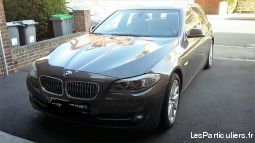 bmw série 5 - 6 cylindres vehicules voitures nord
