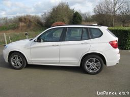 bmw x3 3.0 d xdrive vehicules voitures manche