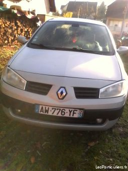 renault megane 1.5dci année 2003 vehicules voitures bas-rhin