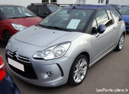 citroën ds3 cabriolet 1.6 thp sport chic vehicules voitures bas-rhin