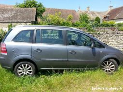 opel zafira 1.9 cdti 120cv, 7 places ct ok vehicules voitures dordogne