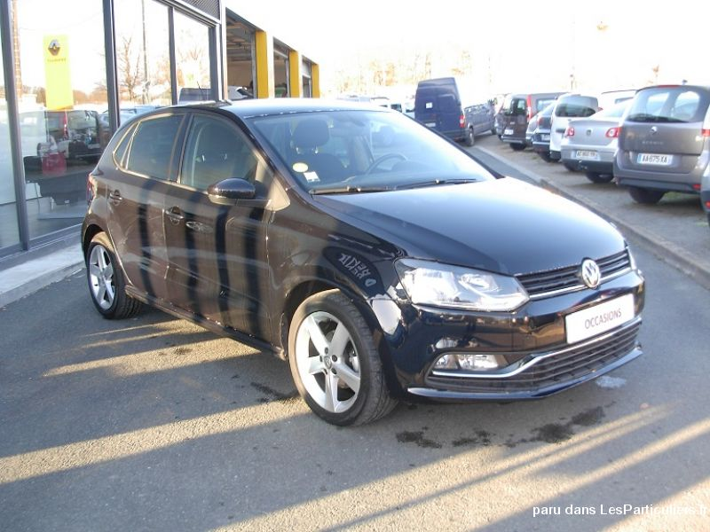 vw polo v ph. 2 1.4 tdi 90cv bluemotion ref10423 vehicules voitures cher