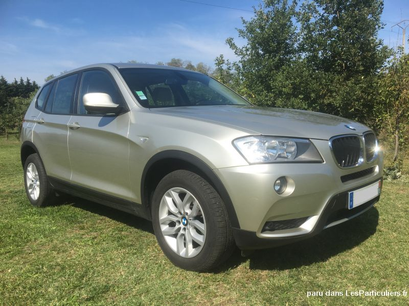 bmw x3 xdrive - luxe vehicules voitures ariège