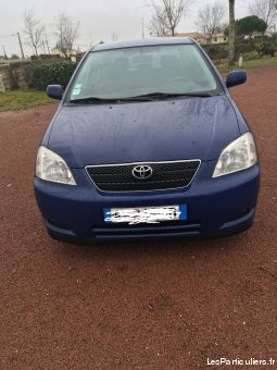 toyota corolla 2.0l d4d 116 vehicules voitures gironde