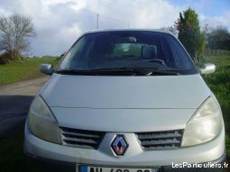 renault scenic vehicules voitures finistère