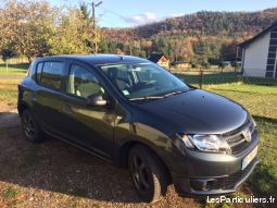 dacia sandero vehicules voitures moselle