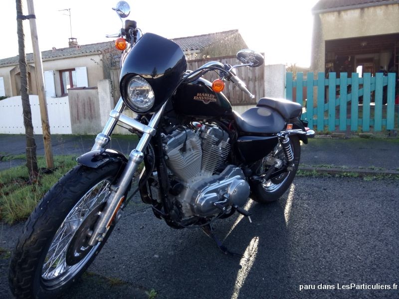harley davidson sportster 2009 883 xl low 2800km vehicules motos charente-maritime