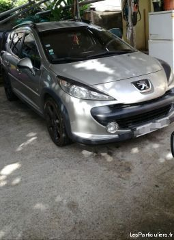 peugeot 207 sw outdoor vehicules voitures martinique