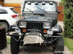 jeep wrangler 4.0l bvm vehicules voitures eure