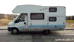 camping car fiat ducato 1.9, année 2000, 6 places vehicules caravanes camping car nord