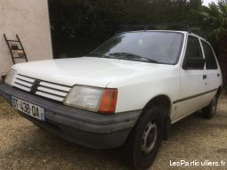 peugeot 205 de collection vehicules voitures indre