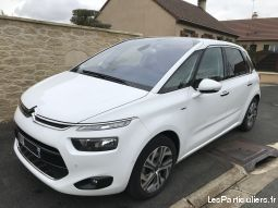 c4 picasso blanc exclusive hdi 150 cv eat 6 vehicules voitures sarthe