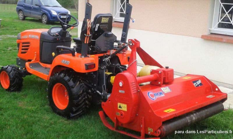 tracteur diesel kubota bx 2350 tat neuf vehicules lot et. Black Bedroom Furniture Sets. Home Design Ideas