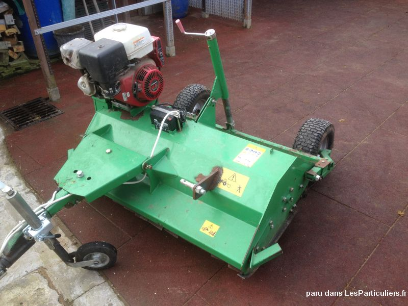 broyeur atv 120 vehicules materiel agricole nord
