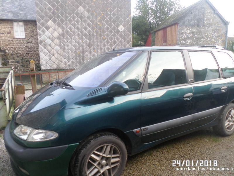 renault espace 2, 2 dci vehicules voitures manche