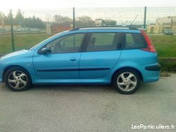 peugeot 206 vehicules voitures val-d'oise