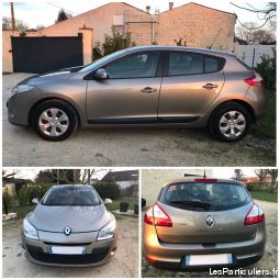 renault mégane iii 1.5 dci 85 expression vehicules voitures charente-maritime