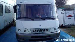 Camping car hymer integral bc 655