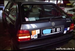 volkswagen polo 1992 vehicules voitures somme