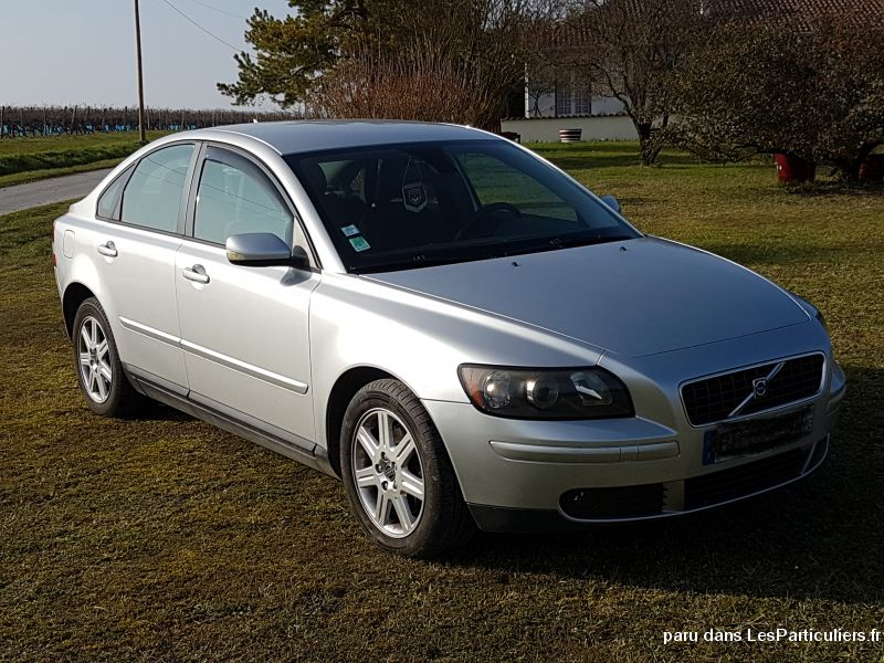volvo s40 2.0 d momentum 136 cv vehicules voitures charente