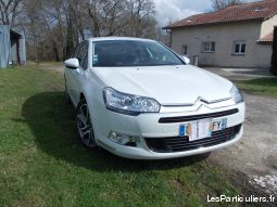 citroën c5 exclusive diesel 2012 toutes options vehicules voitures landes