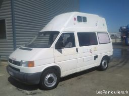 fourgon amenage wolks. transporter t4 2. 5l tdi  vehicules caravanes camping car vaucluse