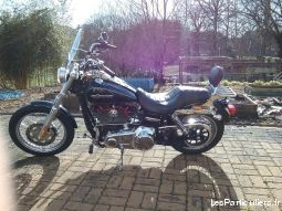 moto harley dyna super glide custon vehicules motos corrèze