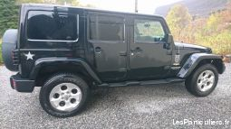 jeep wrangler 2.8 crd sahara illimité + led 2013 vehicules voitures yvelines