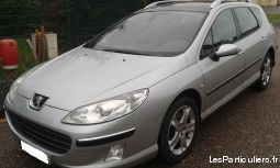 peugeot 407 sw hdi 2,2l vehicules voitures moselle