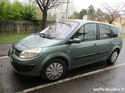 renault grand scenic 7 places vehicules voitures val-d'oise