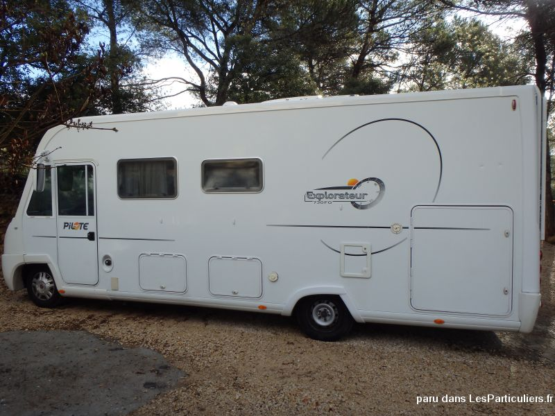 camping car intégral pilote vehicules caravanes camping car vaucluse