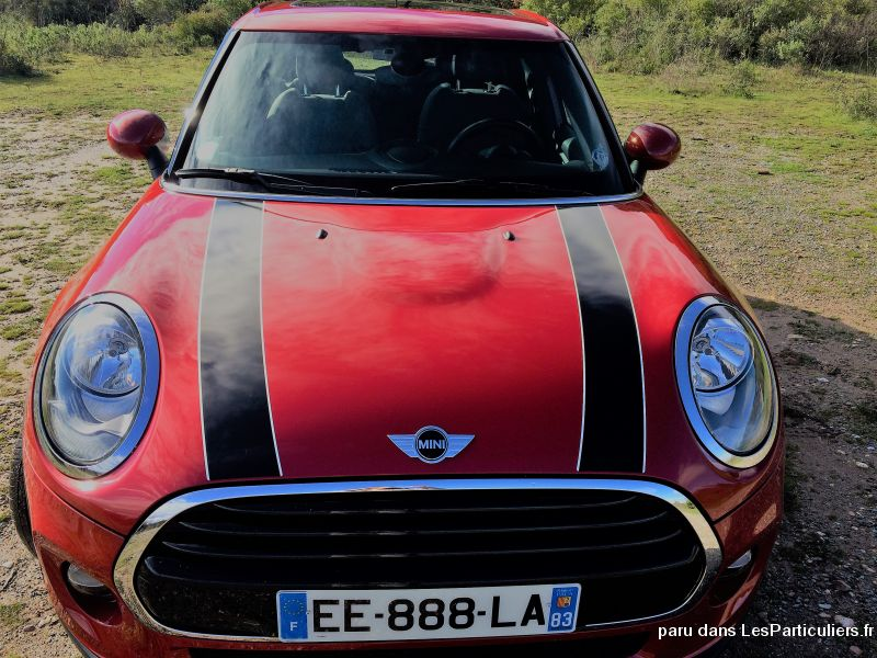 mini cooper 136ch 5p finition chili essence  vehicules voitures var