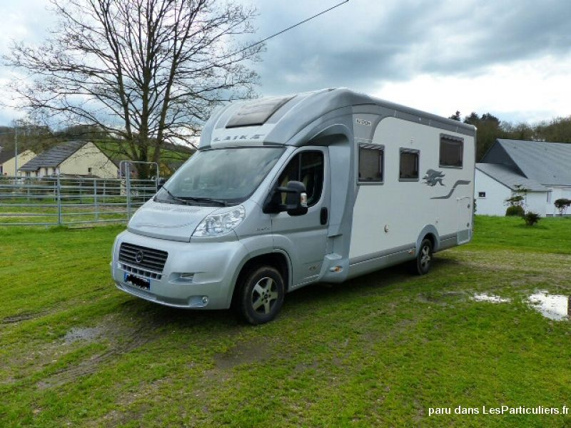 camping car laika kreos 4012 lit central vehicules caravanes camping car somme