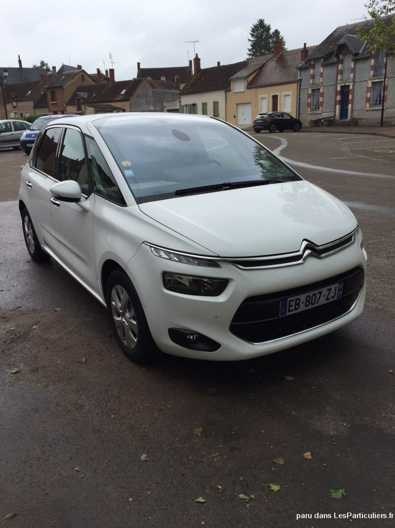 c4 picasso blue hdi 120 s&s eats intensive vehicules voitures allier