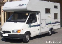 camping car chausson modèle welcome 10 vehicules caravanes camping car var