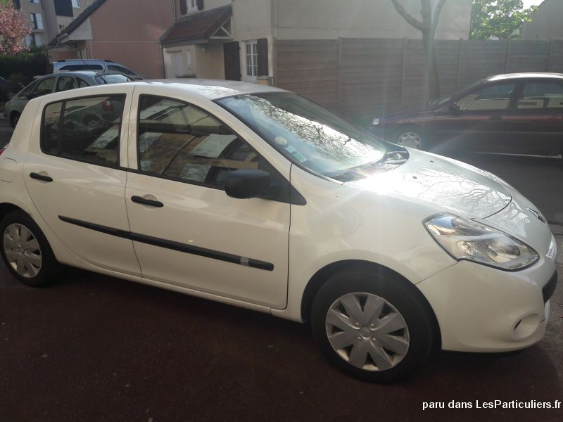 renault clio iii  - 2010 - 1.5 dci 70 authentique vehicules voitures seine-saint-denis