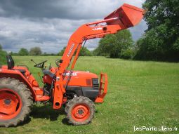 chargeur frontal kubota  modele la 463 vehicules materiel agricole indre