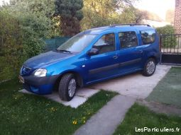dacia logan 7 plac diesel 74000km vehicules voitures nord