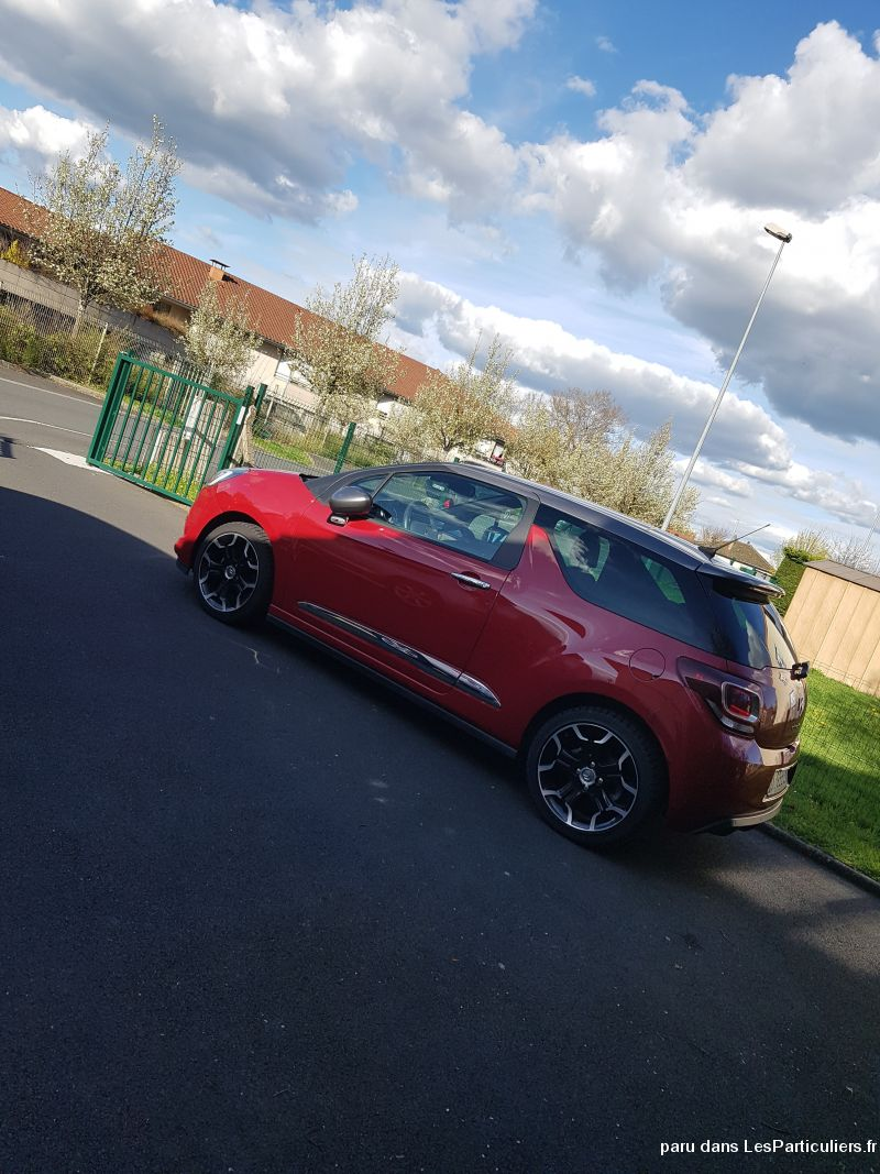 ds3 1,6 blue hdi 120 ch sport chic vehicules voitures cantal