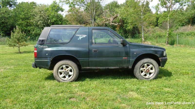 opel frontera vehicules voitures meuse