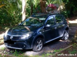 dacia sandeo stepway  vehicules voitures guadeloupe