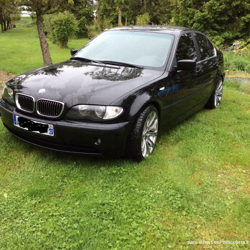 bmw 330 da pack luxe vehicules voitures marne
