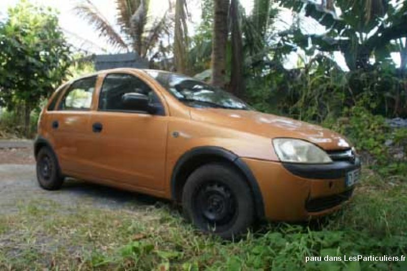 opel corsa c vehicules voitures mayotte